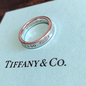 Tiffany & Co. Jewelry - Tiffany & Co Sterling Silver 1837 Ring